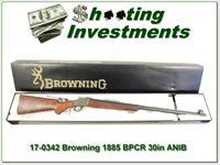 Browning 1885 45-70 BPCR 30in, case colored ANIB