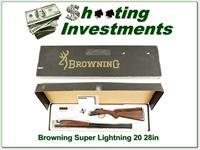 Browning Citori Super Lightning 20 Gauge 28in in box!