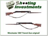 Winchester Model 1897 Trench Gun made 1920 Exc Cond!