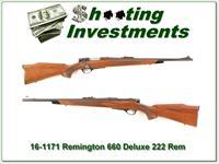 Remington 660 Deluxe in 222 Remington