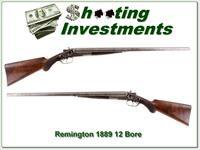 Remington 1889 made in 1890 12 Ga Grade 4