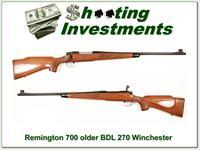 Remington older Model 700 BDL 270 Winchester