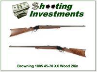 Browning 1885 Traditional 45-70 28in Octagonal barrel!