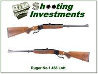 Ruger No.1 in no longer made 458 Lott