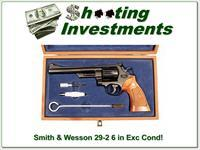 Smith & Wesson 29-2 44 Magnum 6in  ANIC