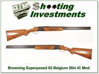 Browning Superposed 64 Belgium Blond RKLT!