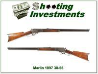 Marlin 1893 hard to find 38-55 mode in 1897 nice!