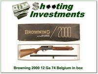 Browning 2000 12 Gauge in box 3in Mag