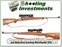 Joe Balickie custom Winchester 70 270 his personal Hunting Rifle!