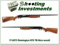 Remington 870 Wingmaster TB 12 Gauge Trap