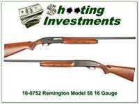 Remington Model 58 16 Gauge very nice!