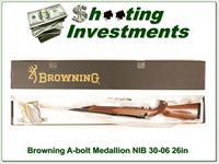 Browning A-bolt II Medallion 30-06 Win last ones!