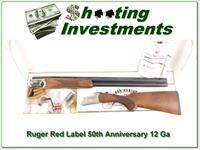 Ruger Red Label 50th Anniversary 12 Ga in box!