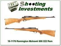 Remington Model 600 Mohawk 222 Rem Collector!!