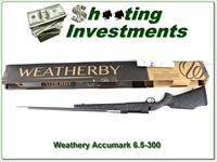 Weatherby Mark V Accumark 6.5-300 factory new