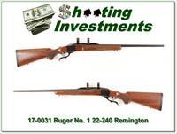 Ruger No. 1 in 22-250 Remington nice!