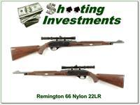 Remington Nylon 66 22 with period scope