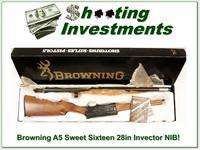 Browning A5 Sweet Sixteen 28in Invector NIB!