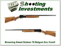 Browning A5 Sweet Sixteen 70 Belgium Vent Rib Exc!