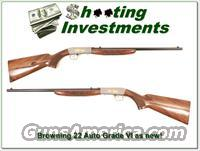 Browning 22 Auto Grade VI Greyed receiver