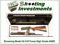 Browning Model 42 410 High Grade ANIB Box!