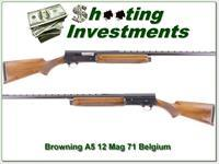 Browning A5 12 Magnum 70 Belgium 28in VR Modifed!