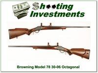 Browning Model 78 30-06 26in Octagonal Barrel