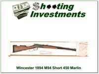 Winchester 1894 Short Rifle in 450 Marlin NIB!
