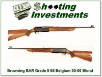 Browning BAR Grade II 68 Belgium 30-06 Blond!