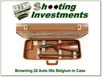 Browning 22 Auto 50's Thumbwheel in factory case!