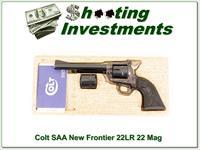 Colt New Frontier 22 and 22 Magnum!