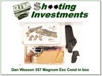 Dan Wesson 357 Revolver 6in in box Exc Cond!