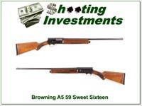 Browning A5 Sweet Sixteen 59 Belgium 26in IC