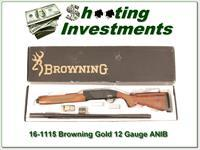 Browning Gold Hunter unfired in box perfect!
