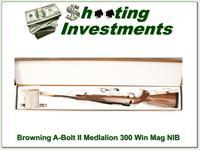 Browning A-bolt II Medallion 300 Win last ones!