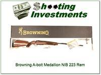 Browning A-bolt II Medallion 223 Rem last ones!