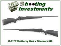 Weatherby Mark V original Fibermark 340 W Mag!