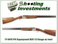 FN by Browning Superposed B25 12 Gauge Exceptional!