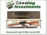 Browning A5 Light 12 Invector Plus 28in NIB!