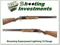 Browning Superposed Lightning 12 Ga 58 Belgium 28in