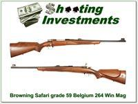 Browning Safari Grade 59 Belgium 264 Win Mag!