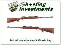 CZ Whitworth Interarms Mark X 458 Win!