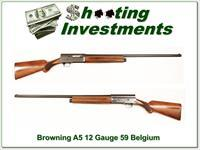 Browning A5 12 Gauge 59 Belgium 30in