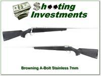 Browning A-Bolt Stainless Stalker 7mm Rem Mag