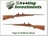 Ruger 77 30-06 Red Pad Tang Safety super wood!