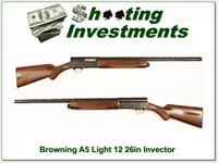 Browning A5 Light 12 26in Invector Plus