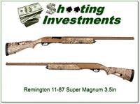 Remington 11-87 Super Magnum 3 1/2in early camo Exc Cond!