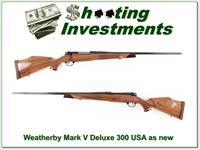 Weatherby Mark V Deluxe USA 300 Wthy Mag 26in