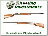 Browning A5 Light 12 57 Belgium 26in IC Collector!