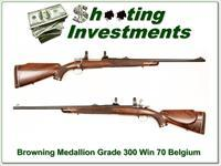 Browning Medallion Grade Belgium made 300 Win